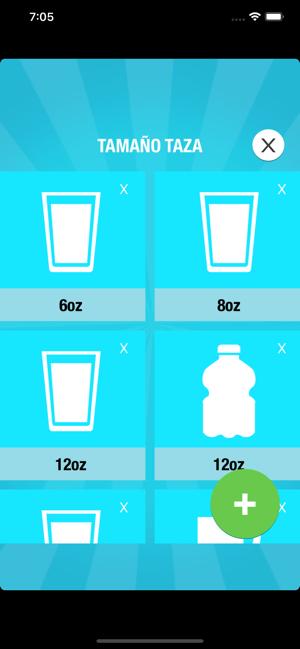 Beber agua para adelgazar app