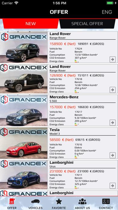 Grandex app image