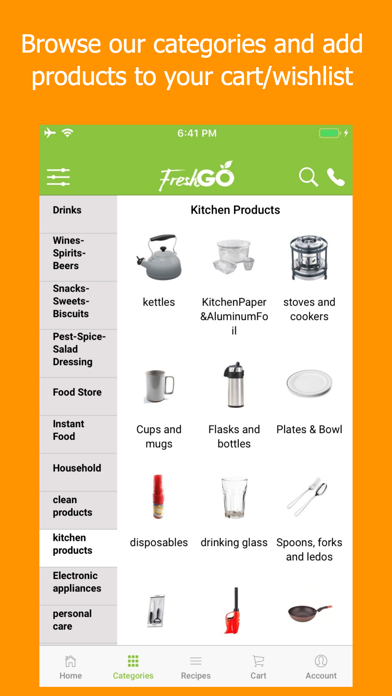 FreshGo screenshot four