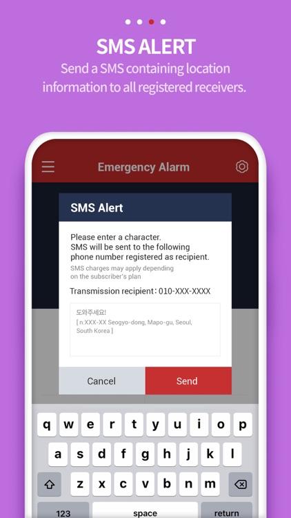 Smart Emergency Alarm-User screenshot-4