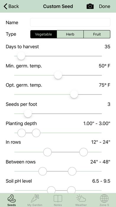 iGarden USA - Gardening Helper screenshot