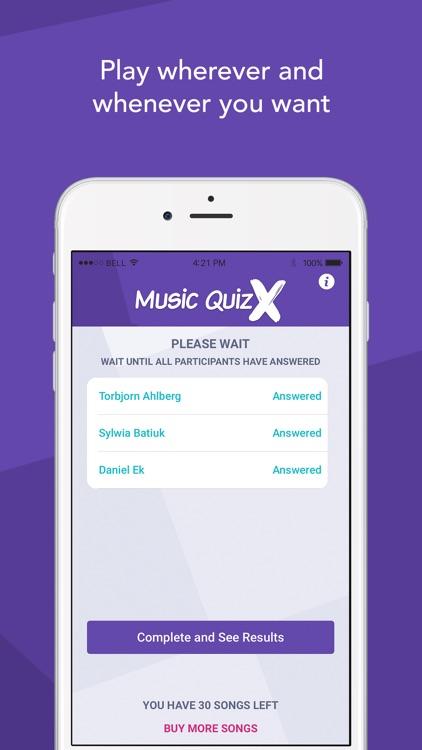 Music Quiz X screenshot-3