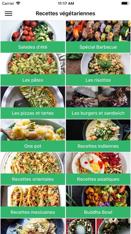 Recettes végétarienne