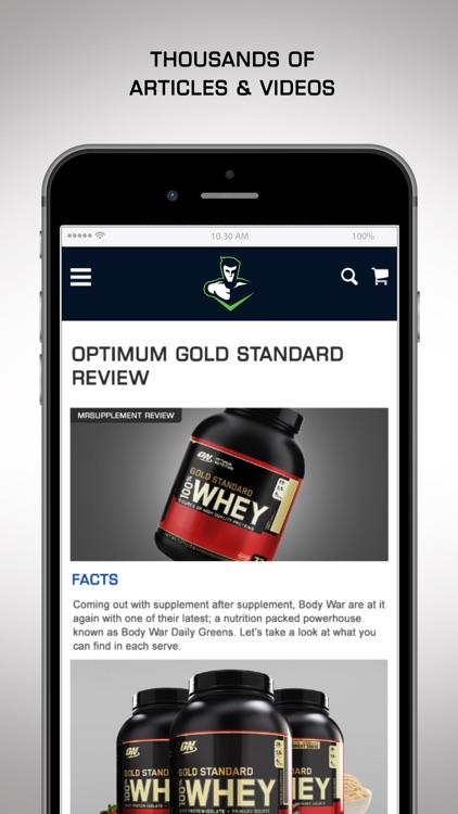 Mr Supplement screenshot-3