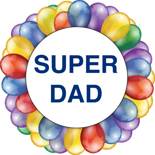 Happy Father's Day Stickers -