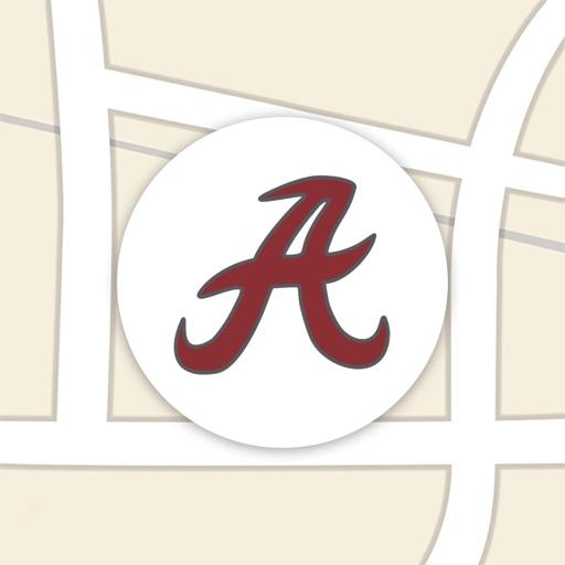 U of Alabama Campus Maps