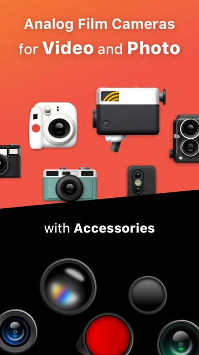 Dazz Cam - Vintage Camera & 3D screenshot 1