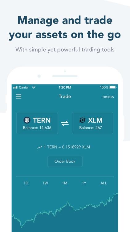 LOBSTR Stellar Lumens Wallet screenshot-3