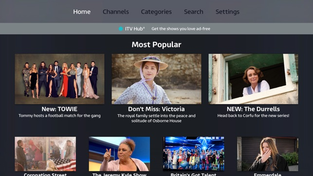 ITV Hub on the App Store