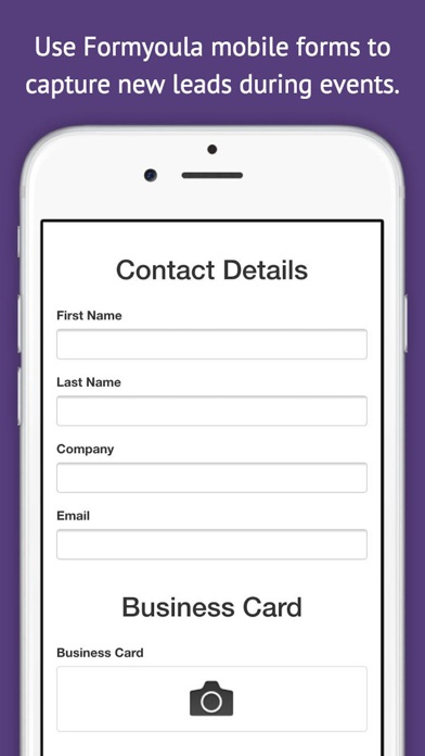 Formyoula Mobile Forms screenshot one