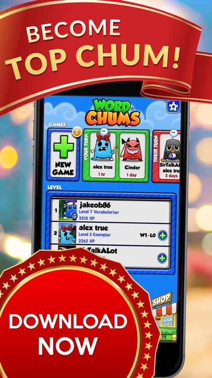Word Chums! screenshot-4