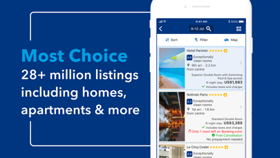 Screenshot for Booking.com: Hotels & Travel in United States App Store