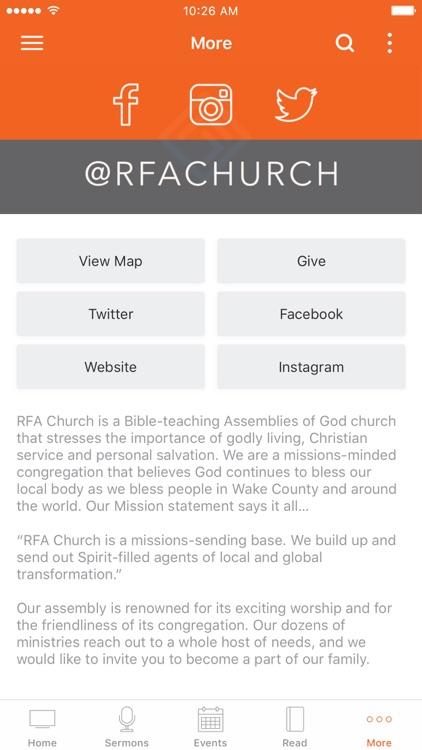 RFA Church