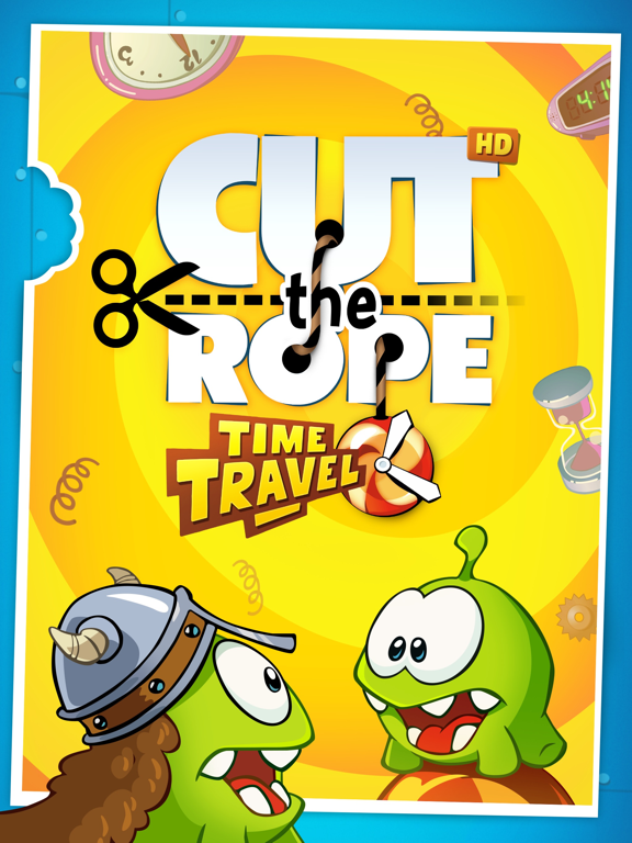 Cut the Rope: Time Travel GOLD на iPad