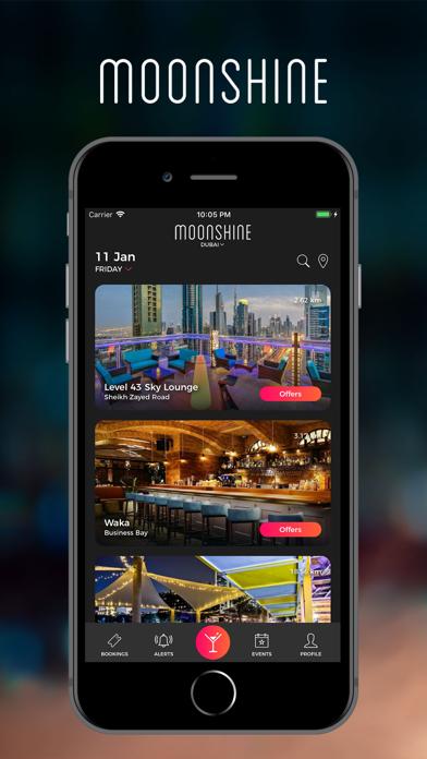 Moonshine App: Nightlife Guide screenshot