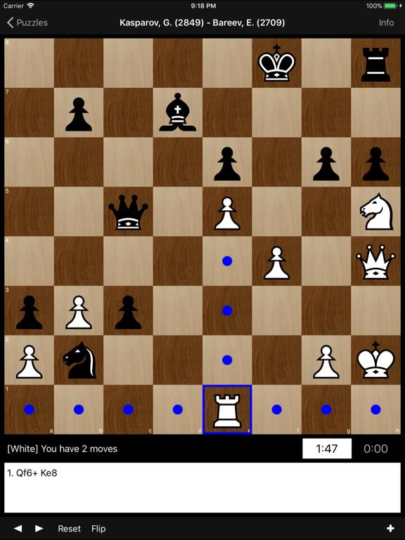 Chess Puzzles: World Champions на iPad