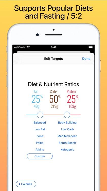 Nutrients & Calories