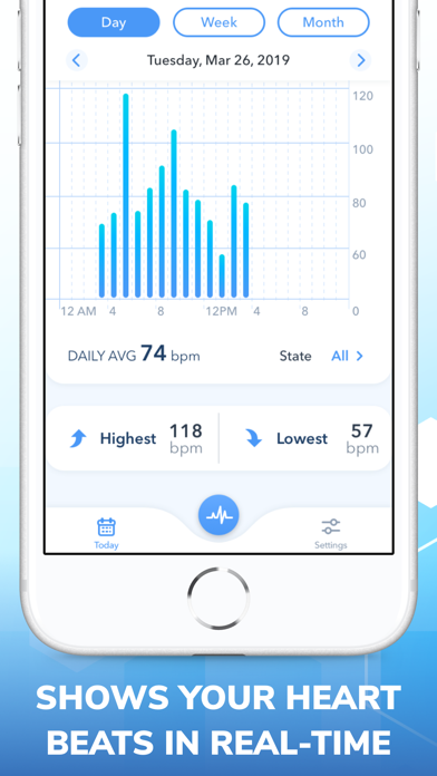Pulse Rate. Heart Beat Monitor screenshot three