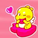 QOOBEE LOVE Dragon Stickers
