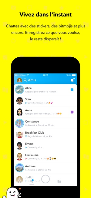 telecharger snapchat pour tablette