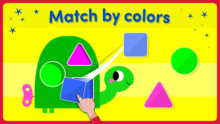 Shape Games For Kids Toddlers By TOYA TAP: PRESCHOOL AND