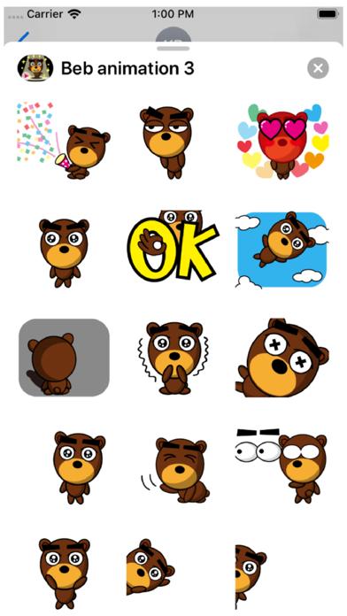 Beb Animation 3 Stickers Screenshot