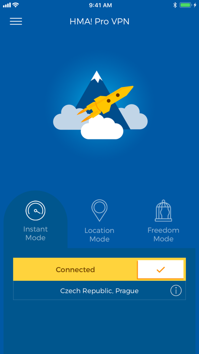 HMA! Hotspot VPN & Proxy – PRO Screenshot