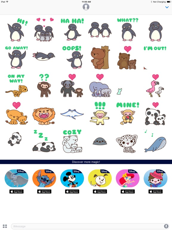 Disney Stickers: Disneynature screenshot 5