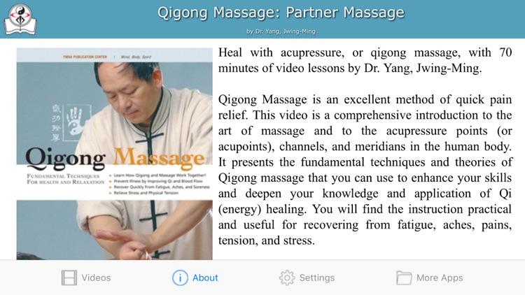 Qigong Massage: Partner