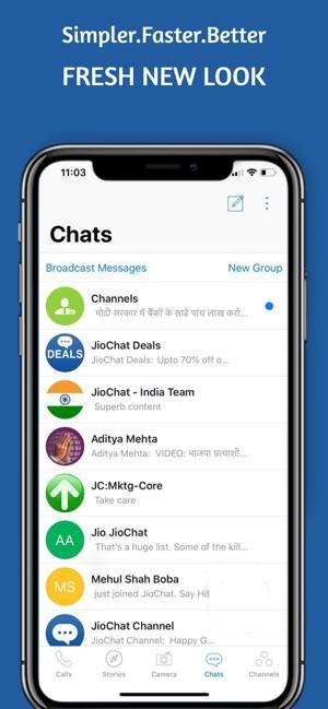 JioChat Video Messenger on the App Store