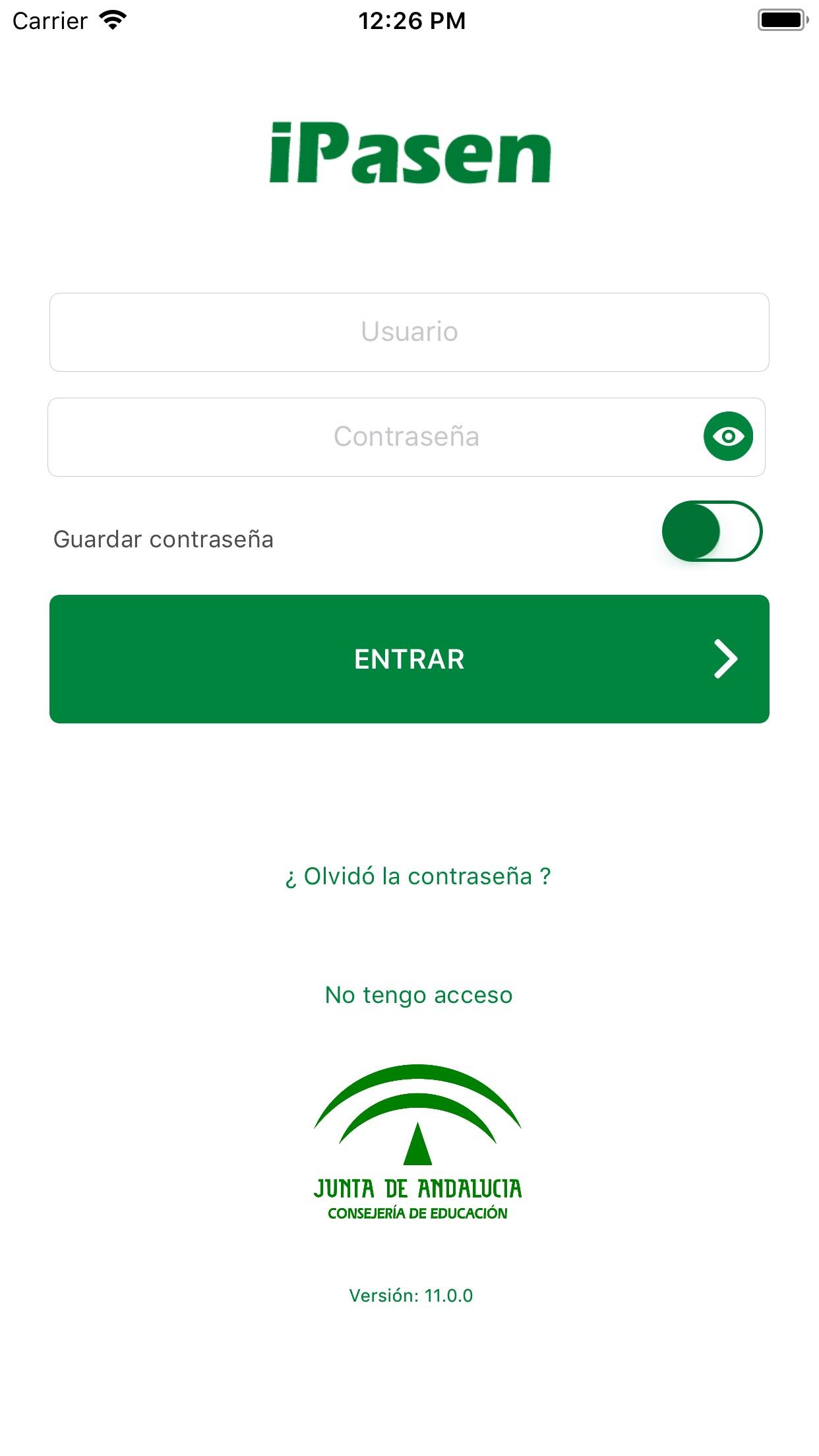 iPasen Screenshot