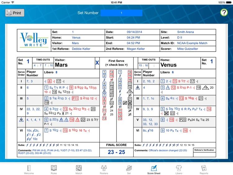 VolleyWrite screenshot-3