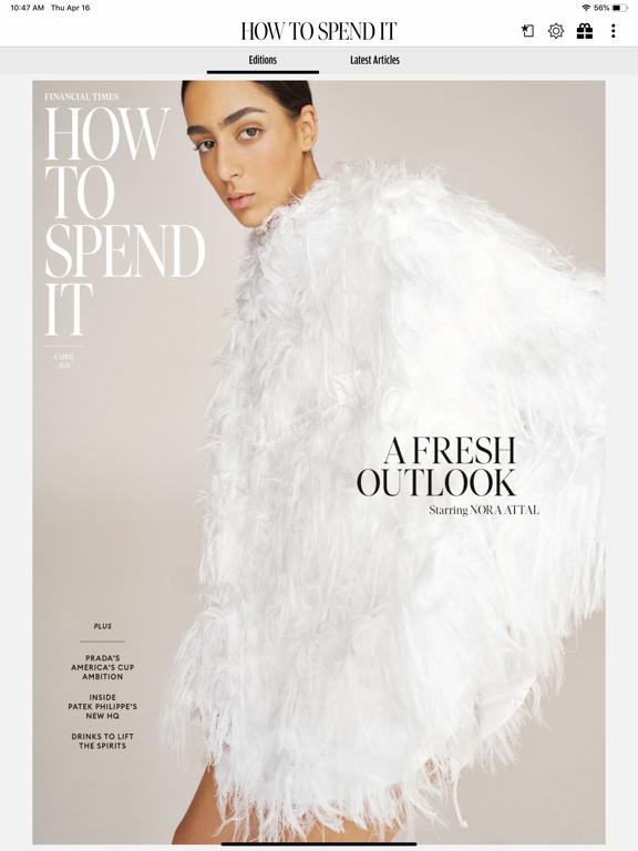 How To Spend It Magazine screenshot