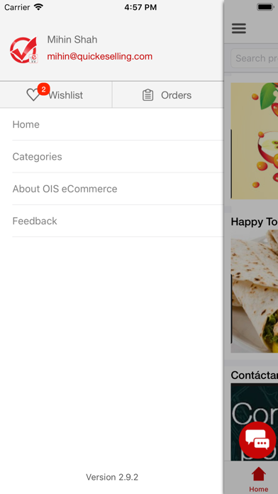 OIS-eCommerce screenshot two