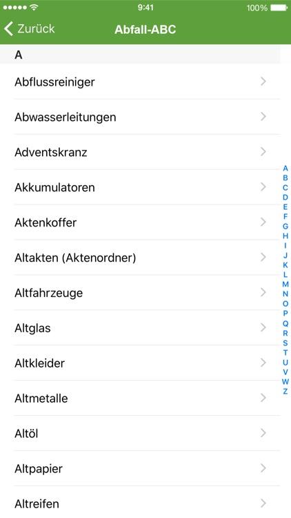 MüllAlarm screenshot-4