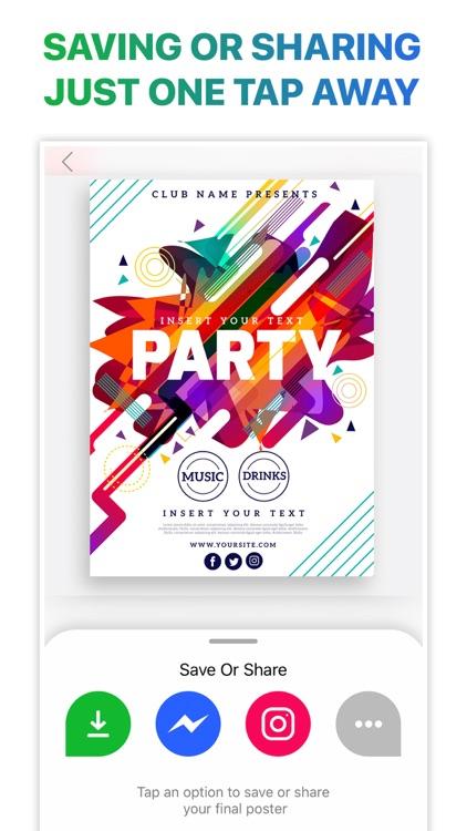 Poster Flyer Maker Icon Design screenshot-9
