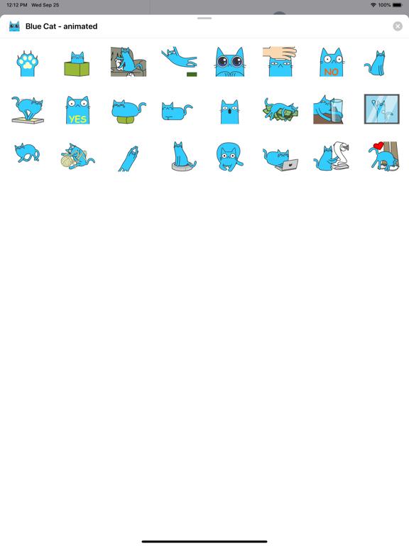 Blue Cat - animated screenshot 3