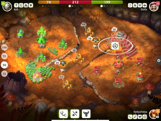 Mushroom Wars 2: ПвП Стратегия для iPad