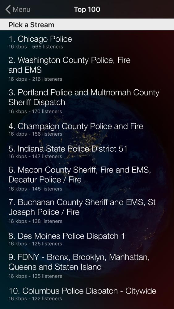 Police Scanner App for iPhone - Free Download Police Scanner