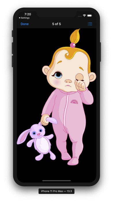 Baby Stickers & Emojis Screenshot