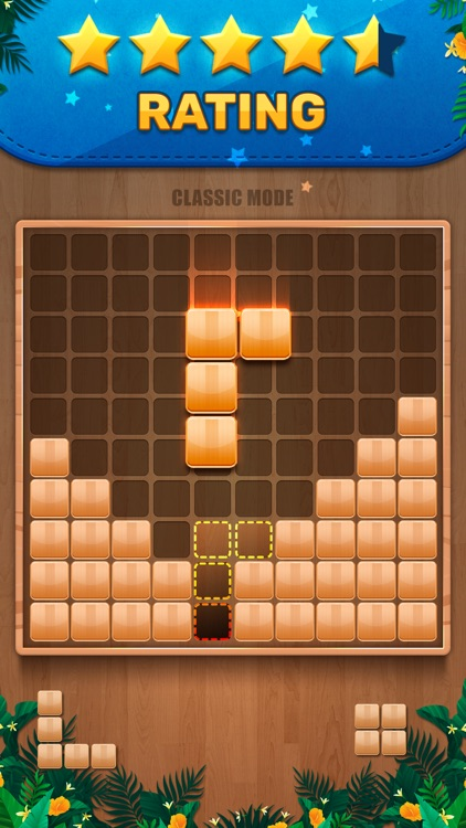 Wooden 100 Block - Hexa Puzzle screenshot-0