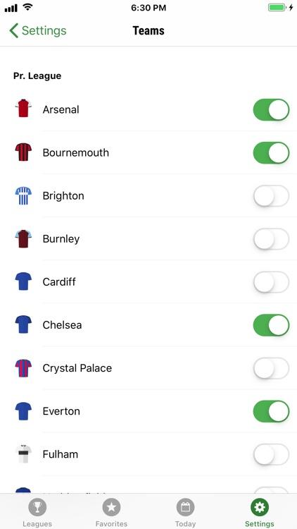GoalAlert Football Live Scores screenshot-5