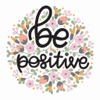 Be Positive Stickers