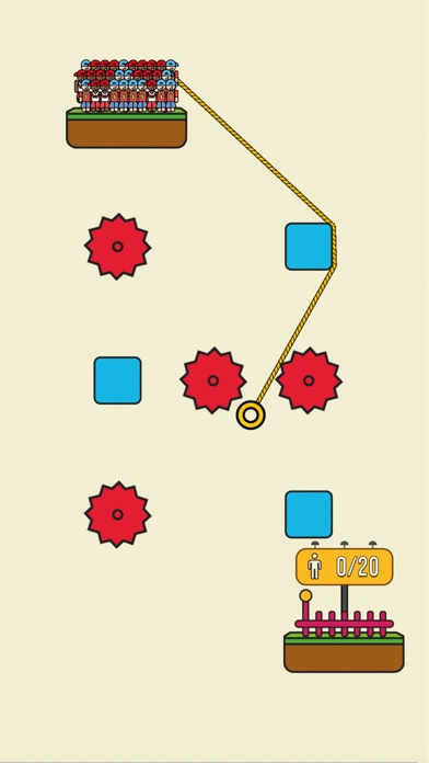 download Rope Rescue! - Unique Puzzle indir ücretsiz - windows 8 , 7 veya 10 and Mac Download now