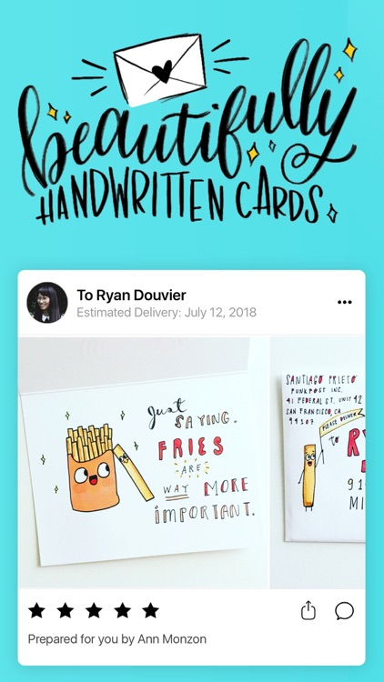 Punkpost - Handwritten Cards screenshot-0