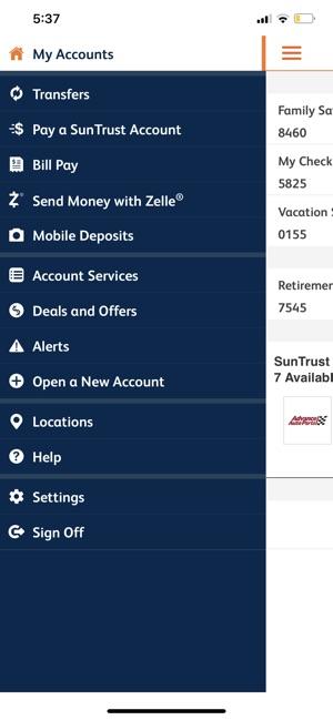 SunTrust Mobile App on the App Store