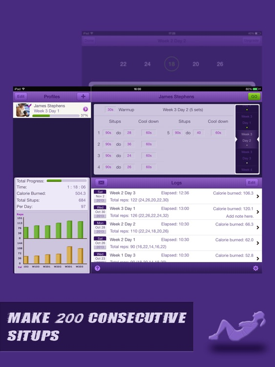 Situps Coach for iPad