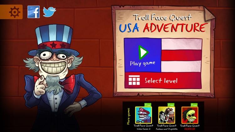 Troll Face Quest USA Adventure screenshot-4