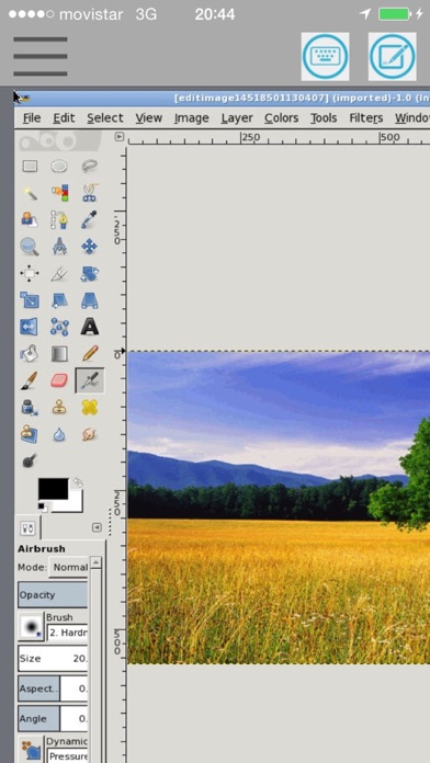 messages.download XGimp Image Editor Paint Tool software