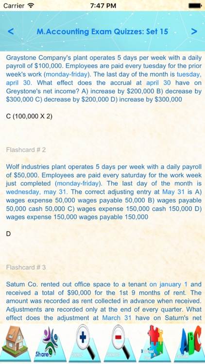 Management Accounting 2400 Q&A screenshot-3